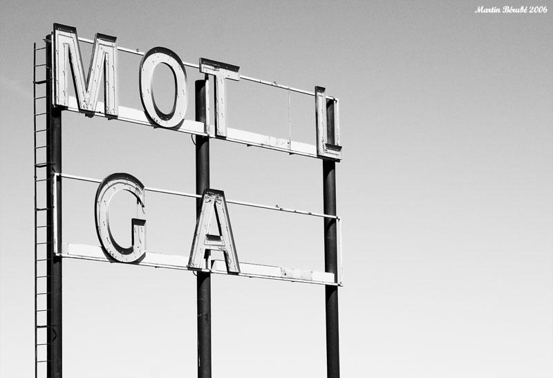 Motel gaz